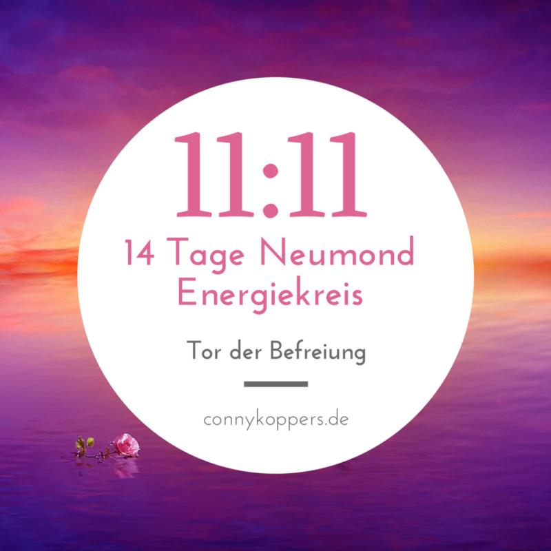 11:11 Neumond Energiekreis